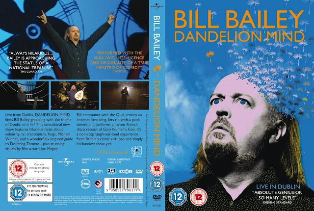 Bill Bailey Dandelion Mind DVD Cover
