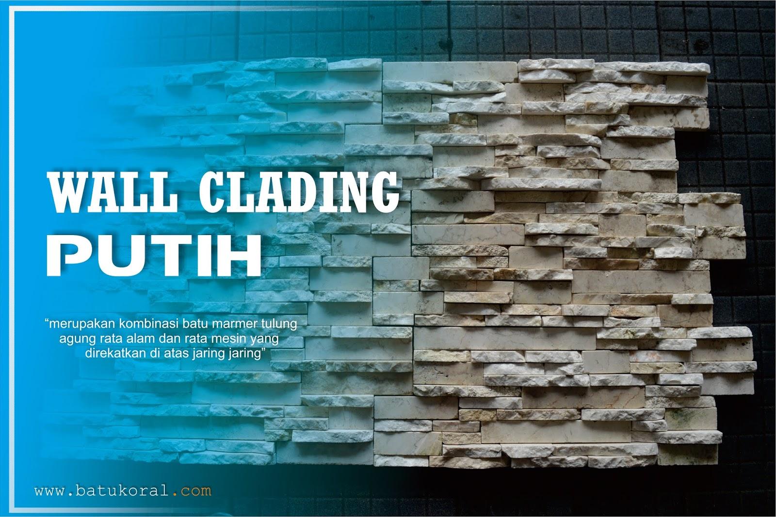 wall clading putih