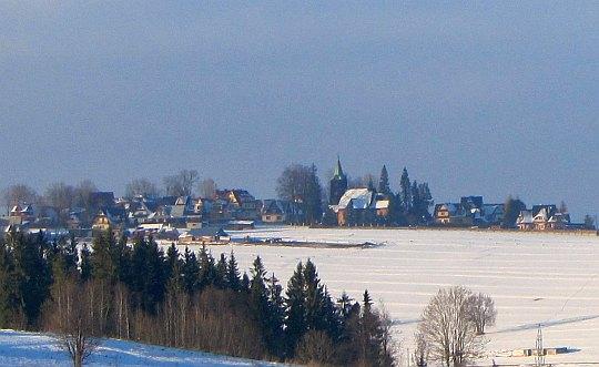 Wieś Ząb.