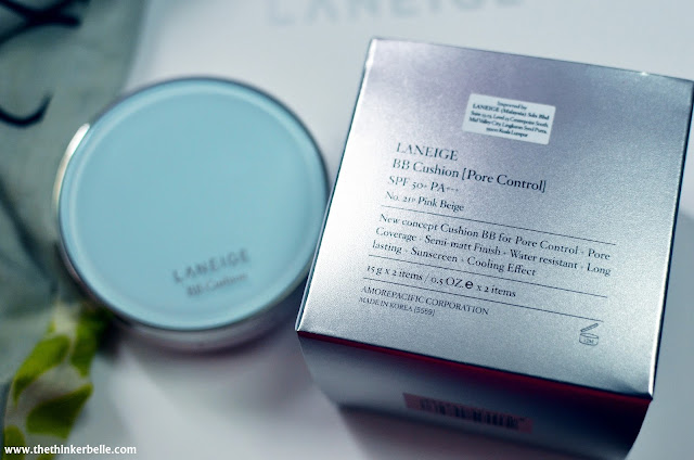 Laneige Mini Pore Series Review; Laneige Mini Pore Waterclay Mask Review; Laneige Mini Pore Blurring  Tightener Review;  Laneige Review; Laneige BB Cushion Pore Control Review; Laneige Best Product; Top Product for Blackheads; Whiteheads; Korean cosmetic; Amore Pacific; Laneige Malaysia; Laneige Review; Pore Minimizer; Pore Tightener; Song Hye Kyo; BB Cushion; Cushion Compact