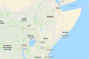 Los lagos con mayor superficie de África