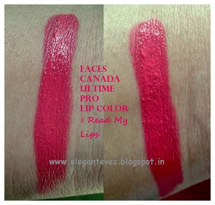 Faces Canada Ultime Pro Long Wear Matte Lipstick #Read My Lips