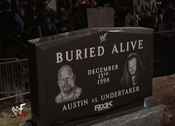 Stone cold buried wwe