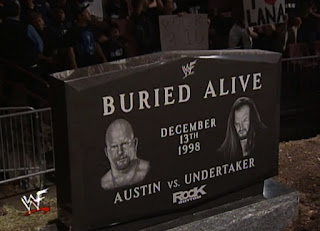 WWE / WWF Rock Bottom 98 - In Your House 26 - Steve Austin vs. The Undertaker - Buried Alive