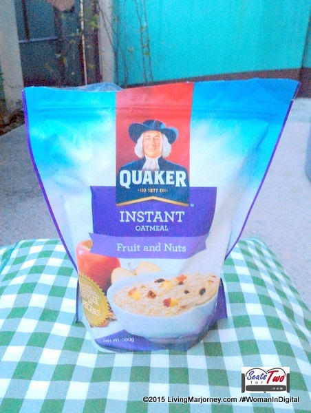 Quaker Instant Oatmeal Fruit and Nuts Review