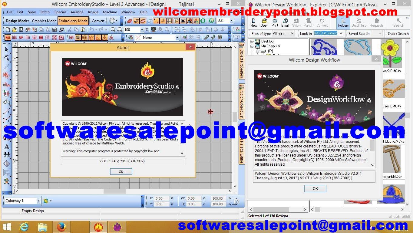 wilcom embroiderystudio es3 программа для вышивальной машины