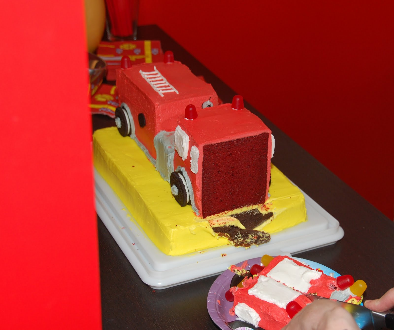 Getting It Together Fire Engine Birthday Party Part 2
