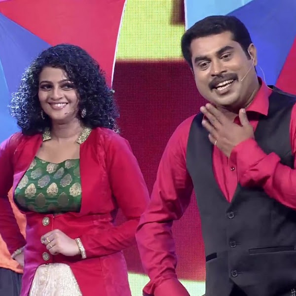 Aswathy latest hot photos from Comedy Super Night is Flowers TV