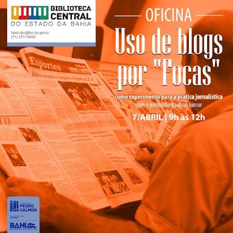 """No Dia do Jornalista, Biblioteca Central realiza mais uma edição da oficina para """"focas"""""""