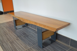 Reclaimed oak benches