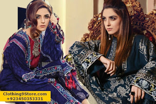 MARIA.B Linen Winter Collection 2017-2018 With Price