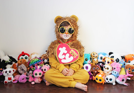 DIY HALLOWEEN COSTUME FOR LITTLES - BEANIE BOO