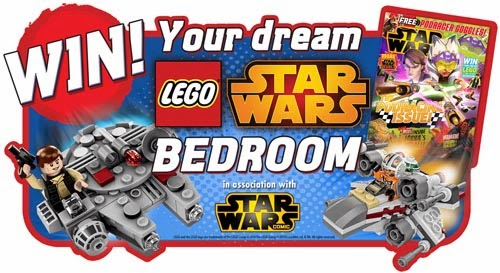 Win Your Dream Lego Star Wars Bedroom