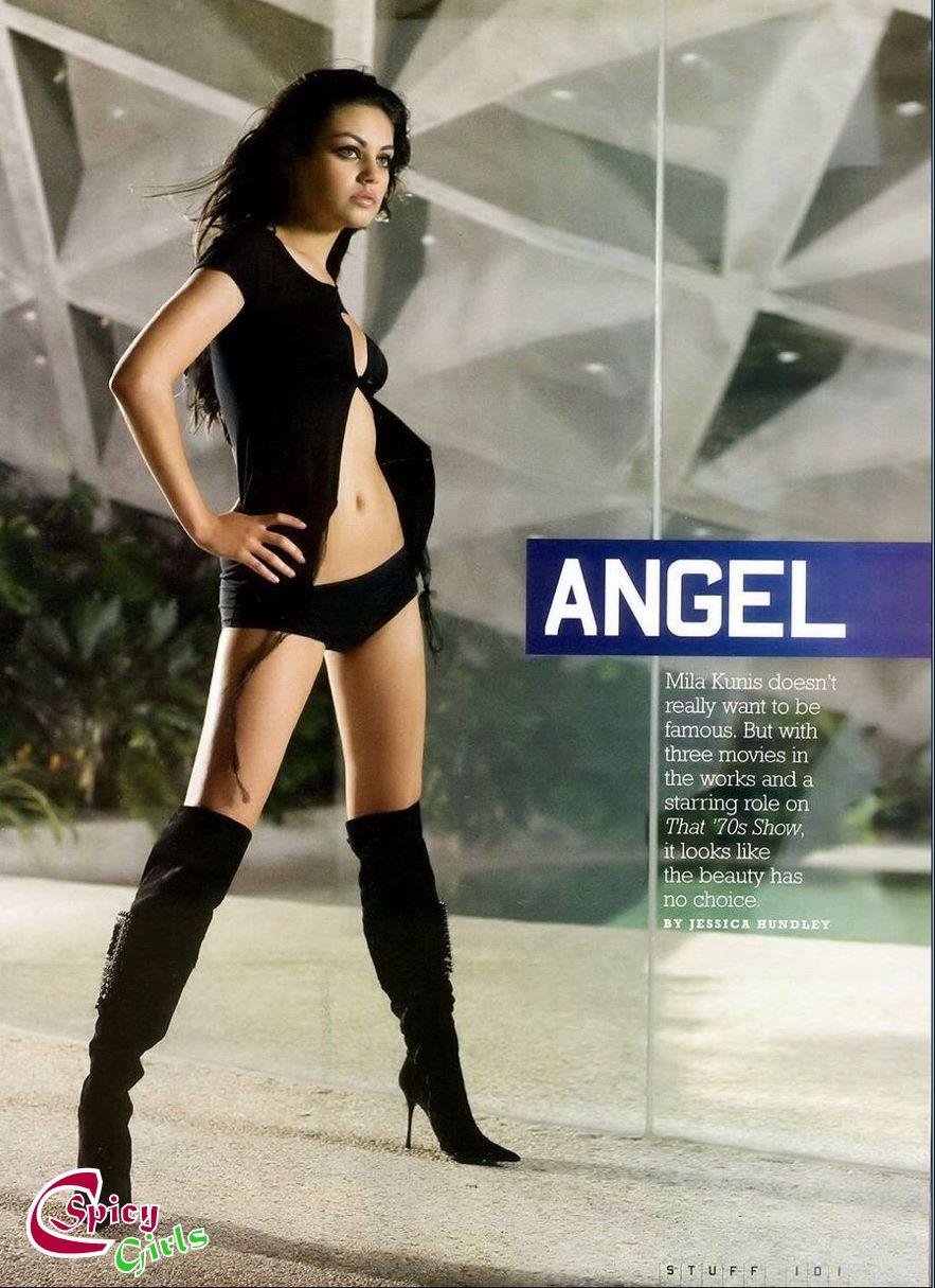 Hot And Spicy Actress Mila Kunis Sexy Bikini Photoshoot