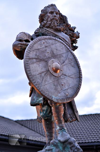 Pomnik wikinga w Haugesund