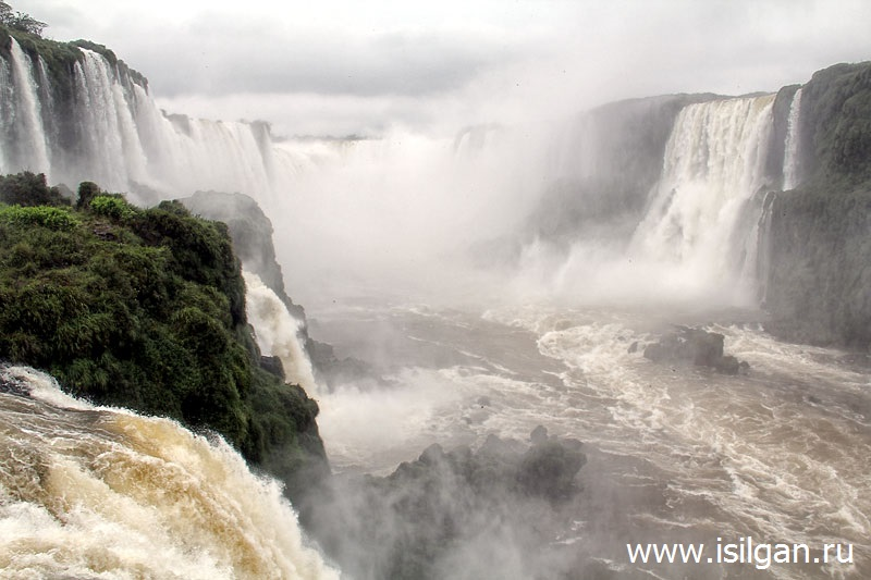 Водопады Игуасу (Cataratas do Iguacu). Бразилия