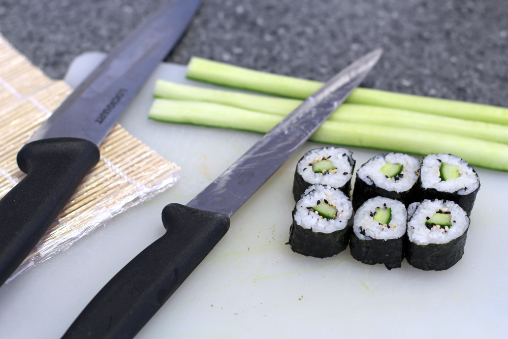 Billingsgate Seafood School sushi class - London foodie blog