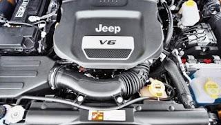 2018 Jeep Wrangler Diesel JL Engine
