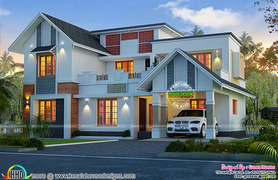 1993 sq-ft Kerala home design