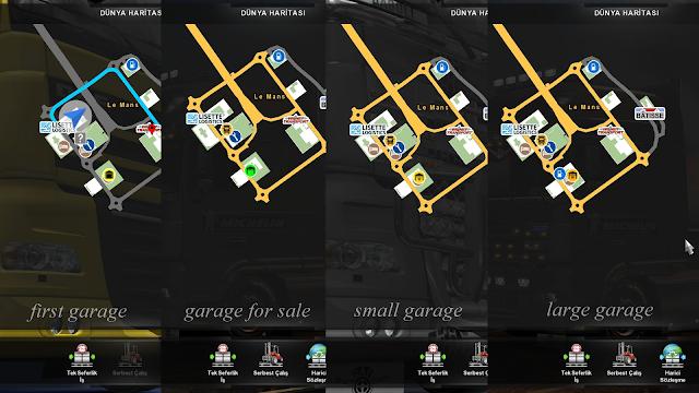 ets 2 google maps navigation v1.7 screenshots 4