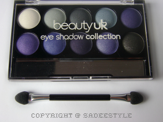 BeautyUK Eye Shadow Palette No 5 Twilight