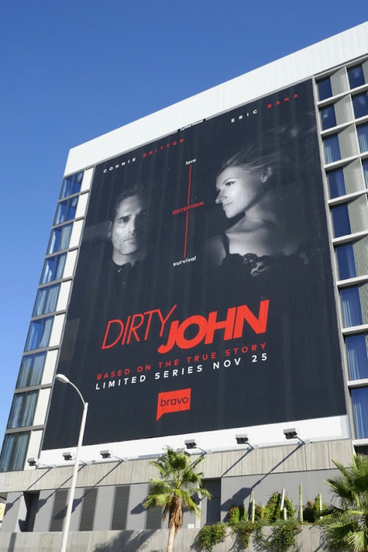 Giant Dirty John series premiere billboard
