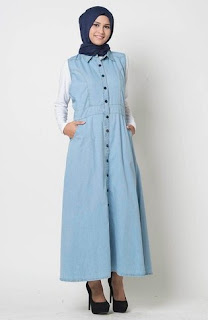 Image result for busana gamis casual