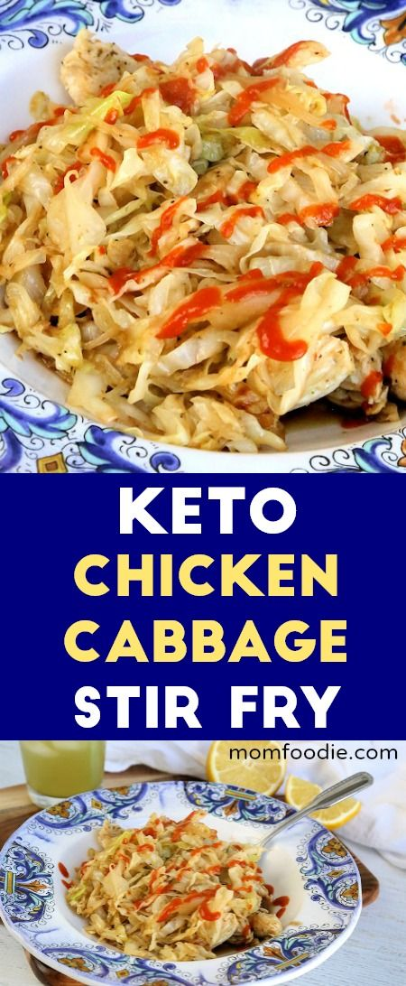 Keto Chicken Cabbage Stir Fry Recipe