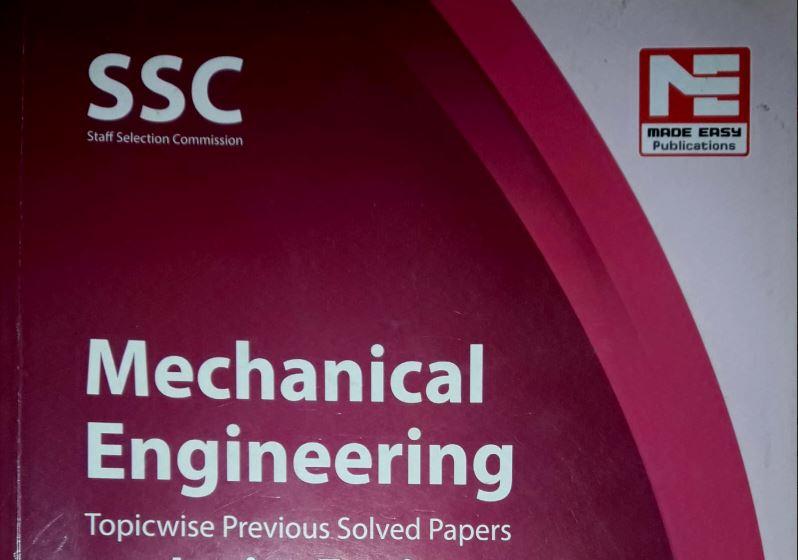 Ssc Junior Engineer Mechanical Question Paper Pdf