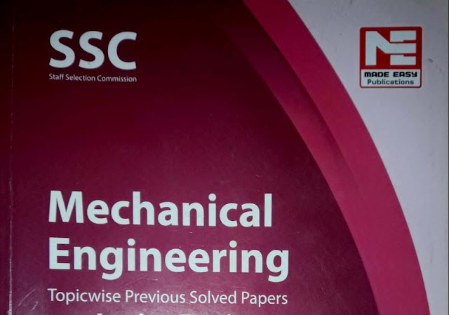 SSC JE Mechnical Made Easy Topic Wise Solved Papers Pdf Book Download