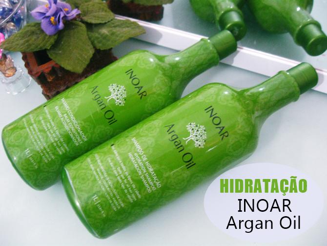 Shampoo e Condicionador Inoar Argan Oil System