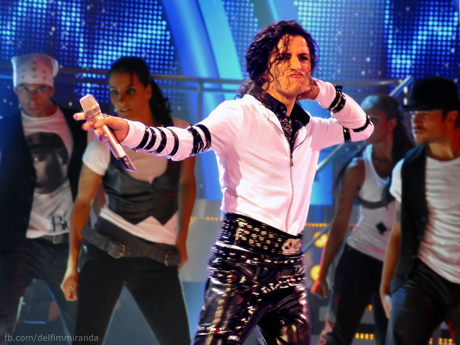 """Delfim Miranda - Michael Jackson Tribute - The final show of the TV series """"The One & Only"""" - TVI / Endemol"""