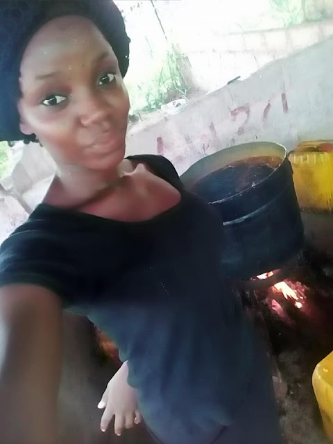 Meet Deborah Francis, A University Of Calabar Student Making A Living From Oil Production