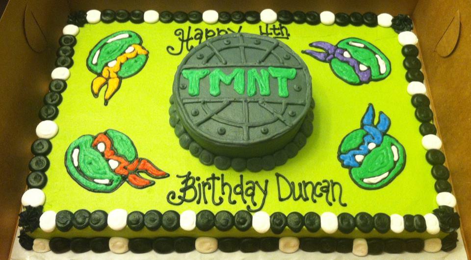 Ninja Turtle Sheet Cakes | www.imgkid.com - The Image Kid ...