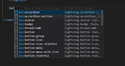 Salesforce Lightning code snippets example