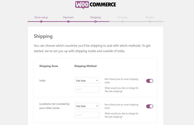 pengiriman woocommerce