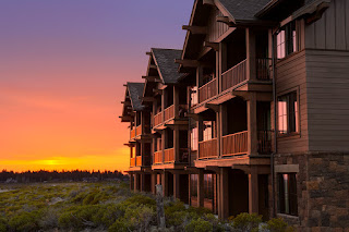 Exterior of Tetherow Resort, Bend Oregon