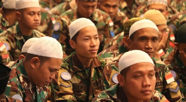 TNI Peringati Nuzulul Qur'an 1439 H di Markas Indobatt Lebanon