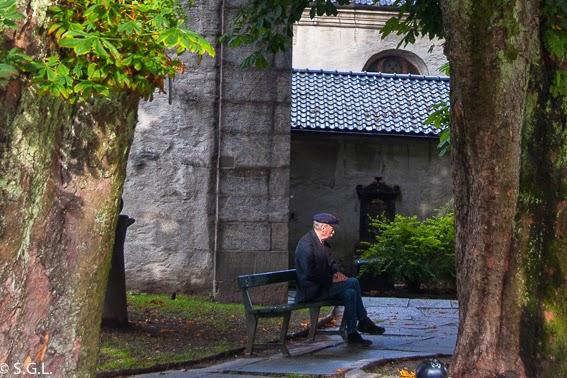 Postal de Bergen. Noruega