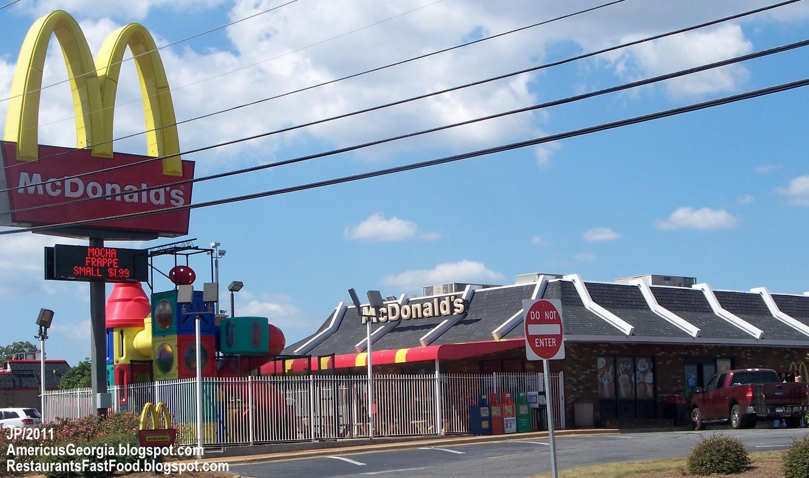 Fast Food In Americus Ga
