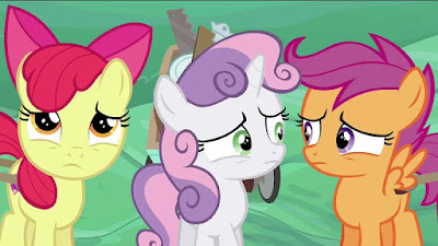 Unhappy Cutie Mark Crusaders