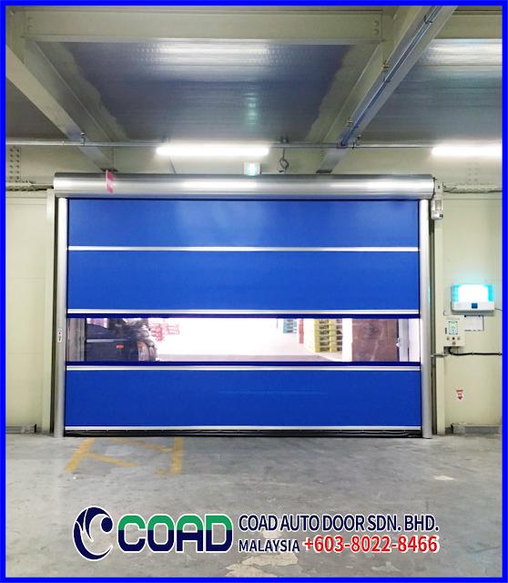 COAD Auto Door Malaysia, Automatic Door Malaysia, High Speed Door Malaysia, High Speed Door, Industry Automatic Door Malaysia, Rapid Door Malaysia