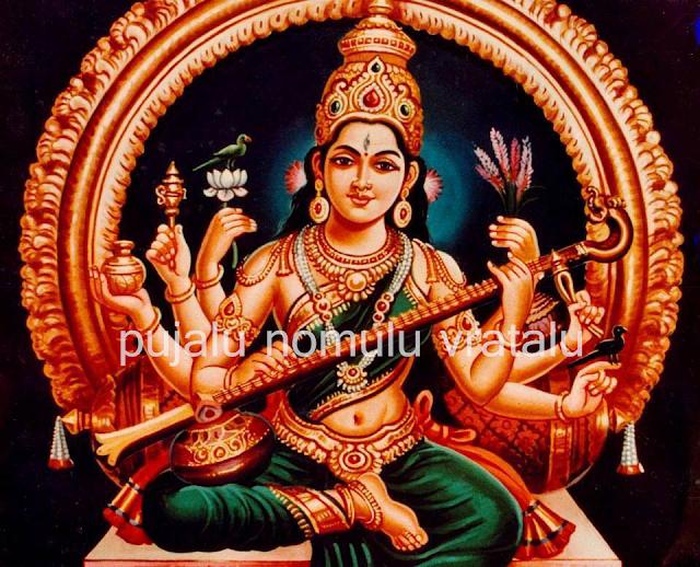 Sarasvathi astotharam in English