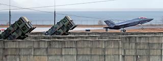 Baterai Rudal Patriot ke Pangkalan Udara Cheongju