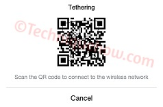 qr view without root