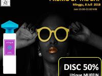 Promo Diskon 50% Parfum Utique Muffin, Berlaku Hanya Hari ini, Minggu, 8 Juli 2018