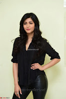 Shruti Haasan Looks Stunning trendy cool in Black relaxed Shirt and Tight Leather Pants ~ .com Exclusive Pics 044.jpg