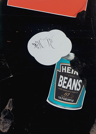 urban photography, urban photo, street art, contemporary, baked beans, signs, Sam Freek,