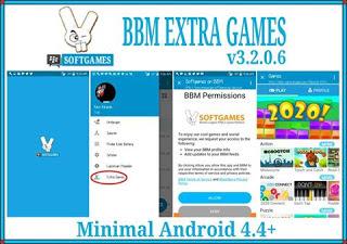 BBM Mod Extra Games Apk Android