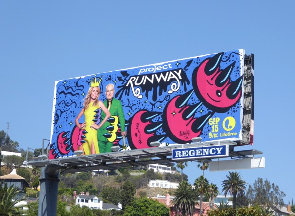 Project Runway season 15 billboard